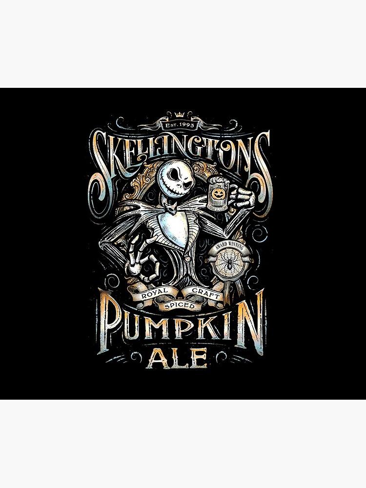 Nightmare Before Christmas - Skellingtons Pumpkin Ale by UnconArt