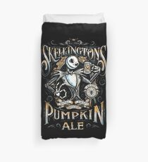 Nightmare Before Christmas - Skellingtons Pumpkin Ale Duvet Cover