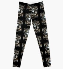 Nightmare Before Christmas - Skellingtons Pumpkin Ale Leggings