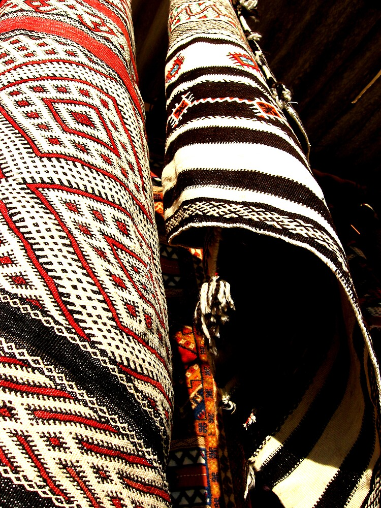 hanging rugs marrakech by AliceFrench7