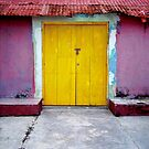 yellow door mexico by AliceFrench7