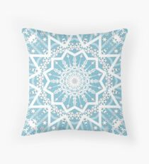 Winter morning. Throw Pillow