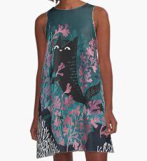 Undersea A-Line Dress