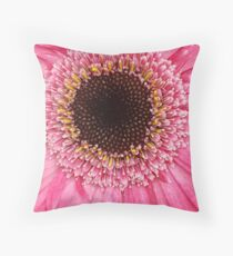 Dear Gerbera Daisy, keep your head up! Throw Pillow