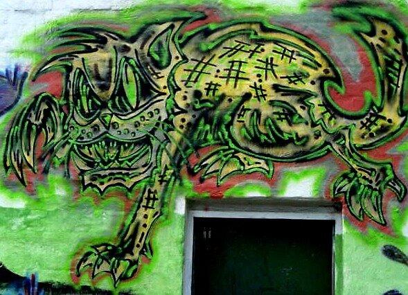 zombie cat by djzombie