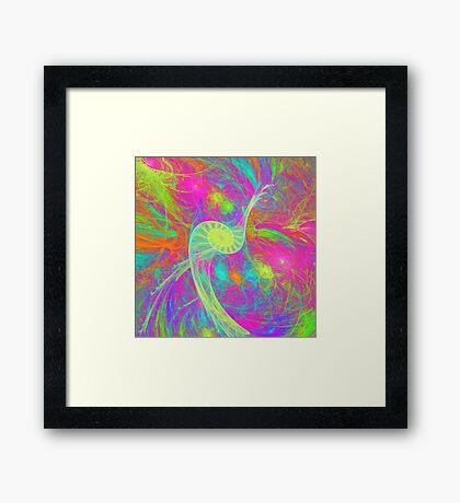 Let`s dance Framed Print