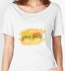 your smile Women's Relaxed Fit T-Shirt