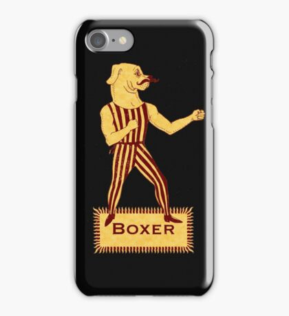 Boxer Dog Bonzo Bones iPhone Case/Skin