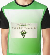 Elder Scrolls Valenwood: Clothing Graphic T-Shirt