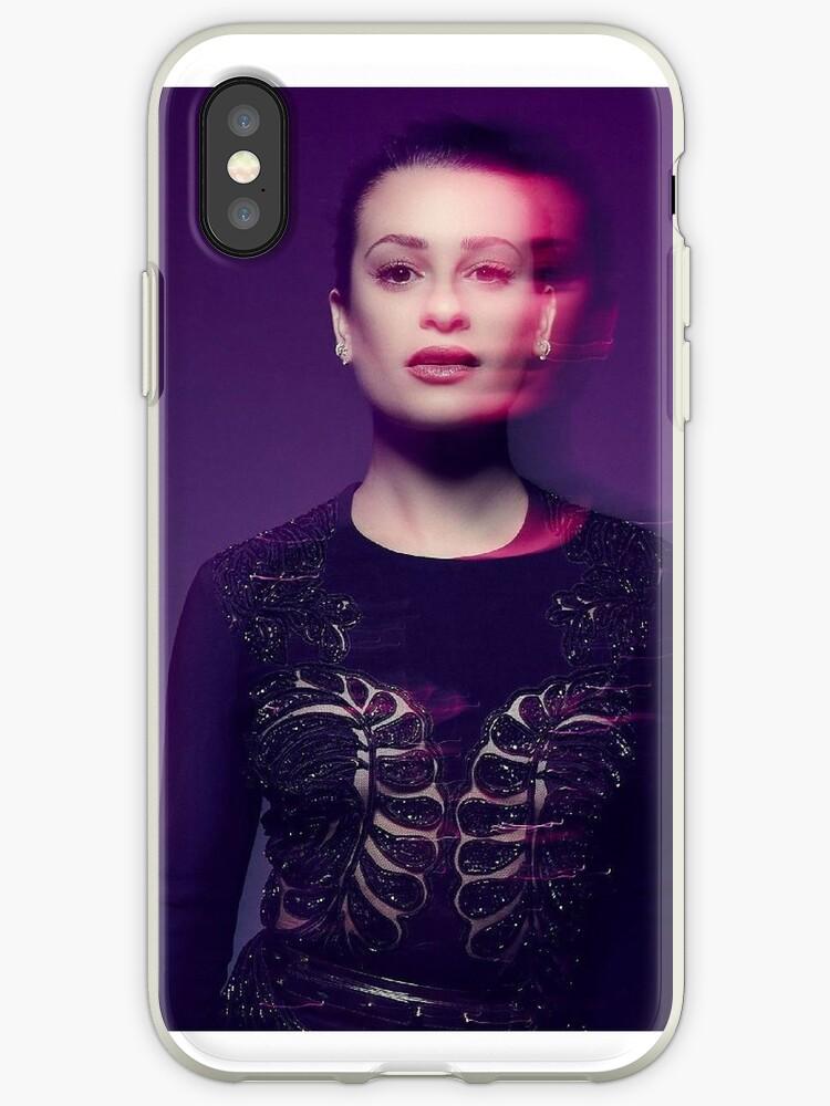 Lea Michele Phone Case - Purple by sassychele