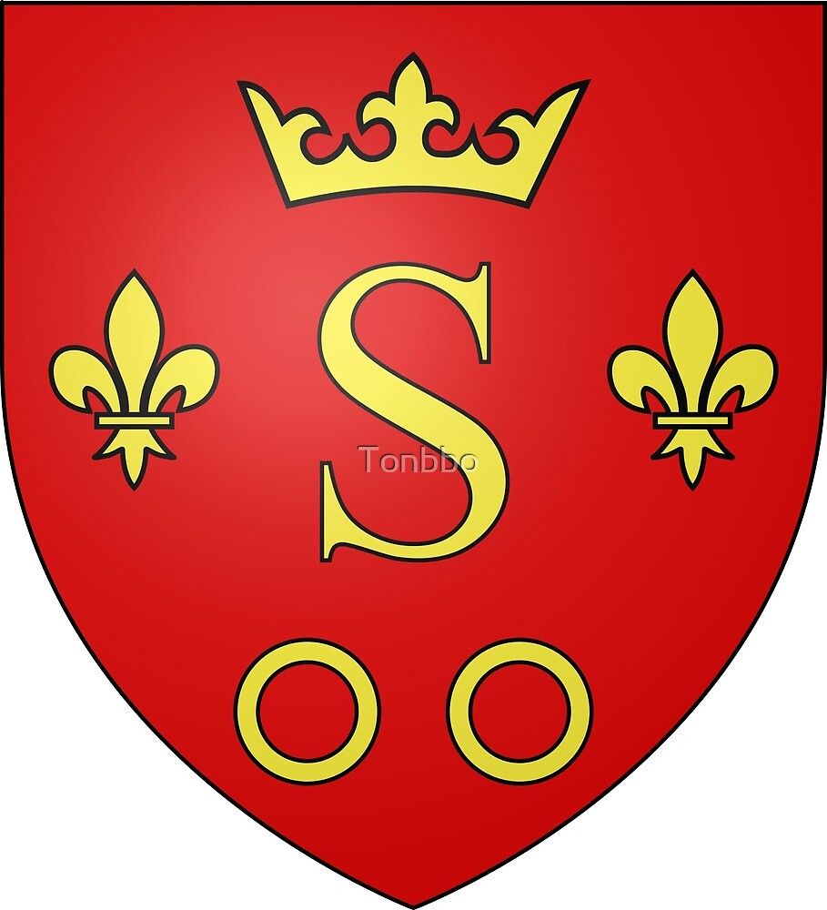Coat of Arms of Sisteron, France by Tonbbo