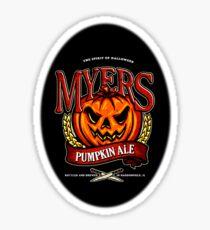 Halloween - Myers Ale Sticker