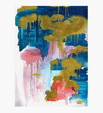 Dripping Gold Photographic Print