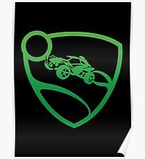Rocket League - Crest (Green) T-Shirt & Memorabilia Poster