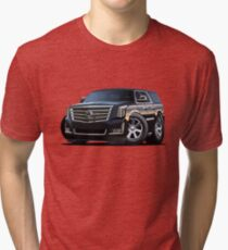Cartoon jeep Tri-blend T-Shirt