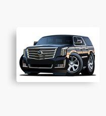 Cartoon luxury SUV Canvas Print