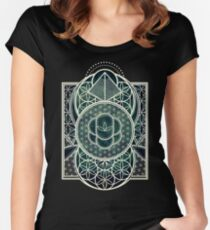 Ultra Sacred Geometry - Dark Women's Fitted Scoop T-Shirt