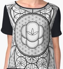 Ultra Sacred Geometry Women's Chiffon Top