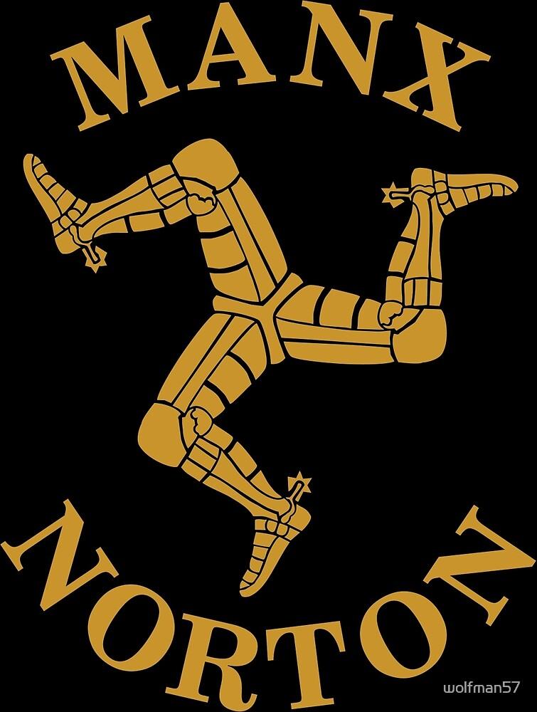 Manx Norton  by wolfman57