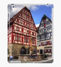St. George's Fountain Rothenburg iPad Case/Skin