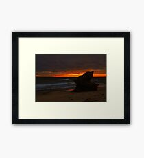 Silhouette Pinacle Framed Print