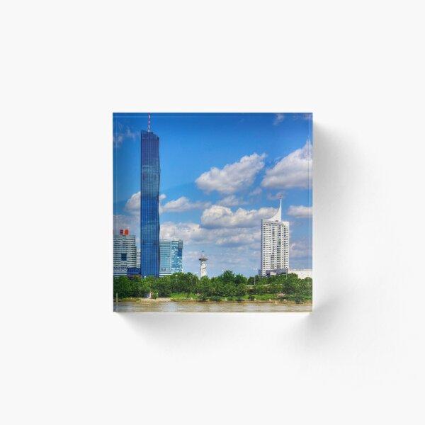 DC Tower 1 Acrylic Block