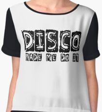 Cool Retro Disco Dancing Party T-Shirts Chiffon Top