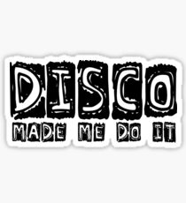Cool Retro Disco Dancing Night Club Drinking Drink Alcohol Smoke Weed Beer Funny Party T-Shirts Sticker