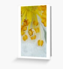 One drop, after the rain Greeting Card