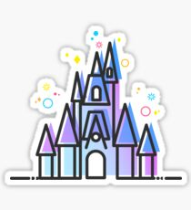 Magic Fairytale Princess Castle Kingdom Sticker