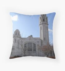 The White Church Lytham St Annes Throw Pillow