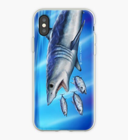 Blue Dynamite iPhone Case