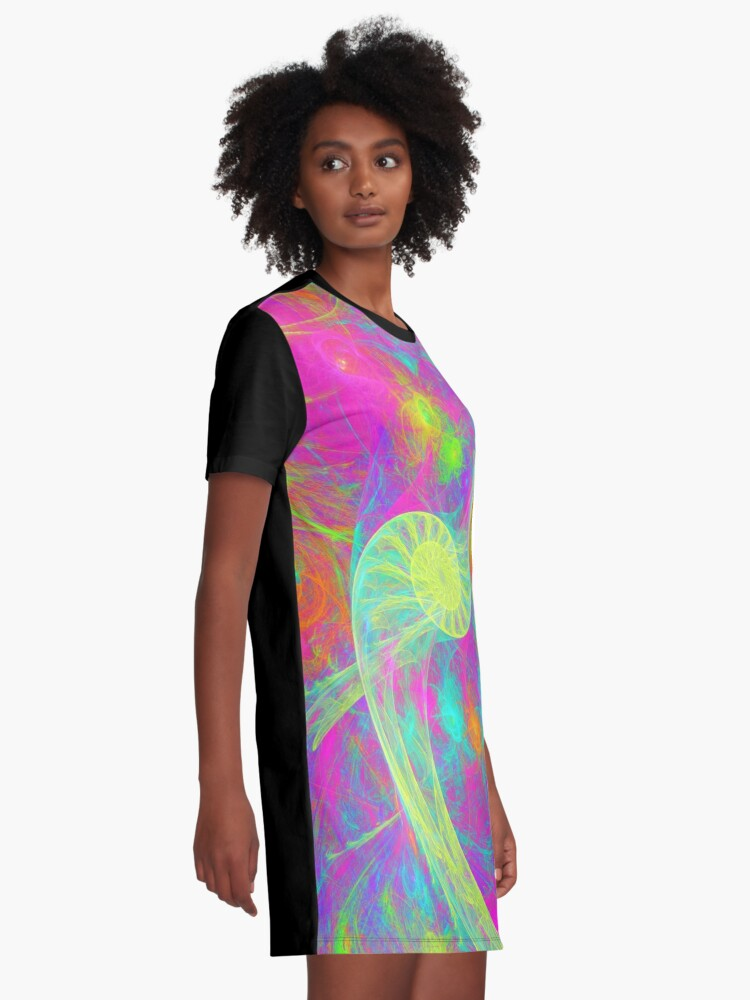 Alternate view of Let`s dance Graphic T-Shirt Dress
