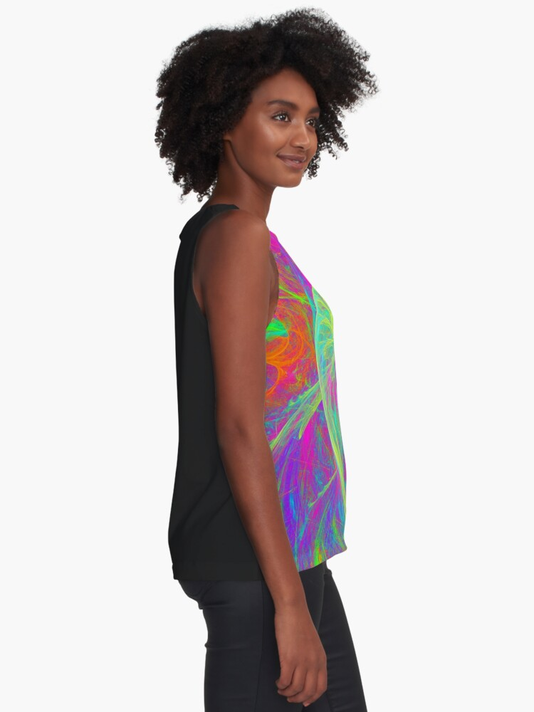 Alternate view of Let`s dance Sleeveless Top