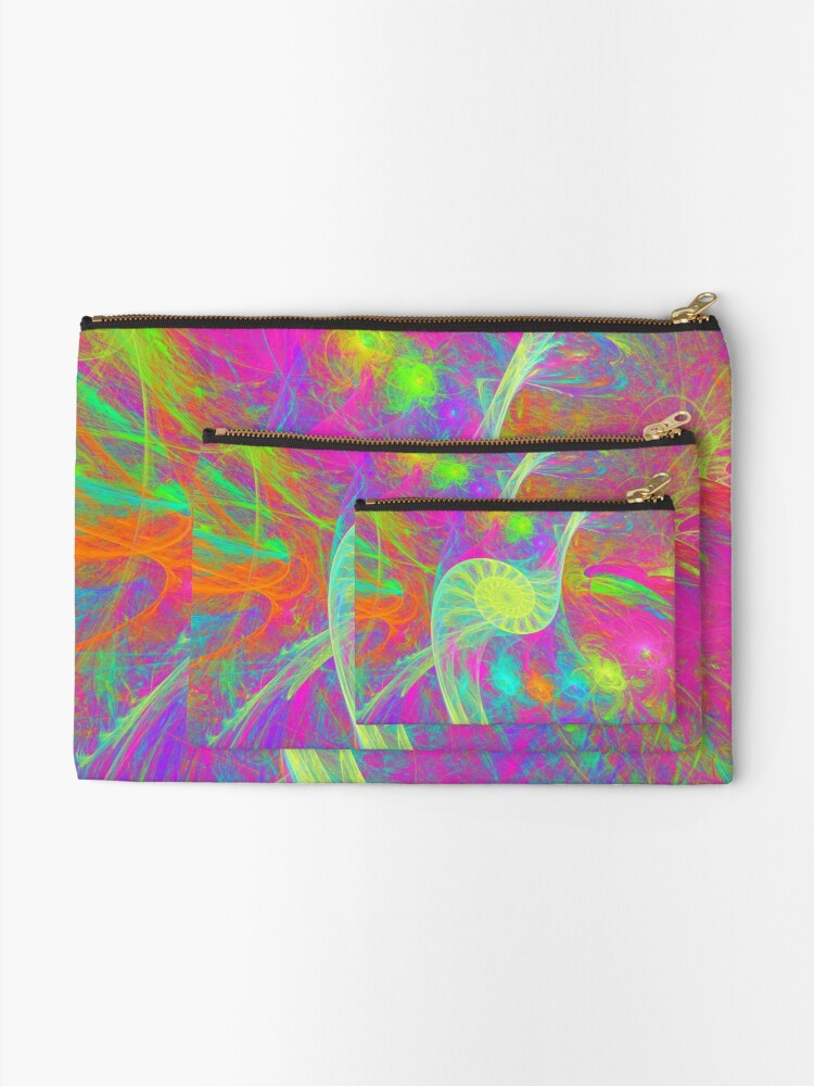 Alternate view of Let`s dance Zipper Pouch