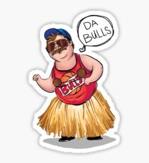 Da Bulls - SNL Chris Farley  Sticker