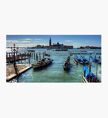 Bacino di San Marco Photographic Print