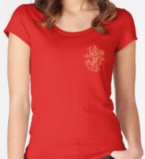 Ancient gnostic god Abraxas Women's Fitted Scoop T-Shirt