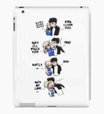 Yuri On Ice - Otayuri Punch and Kisses iPad Case/Skin