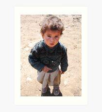 Village child (Afghanistan) Art Print
