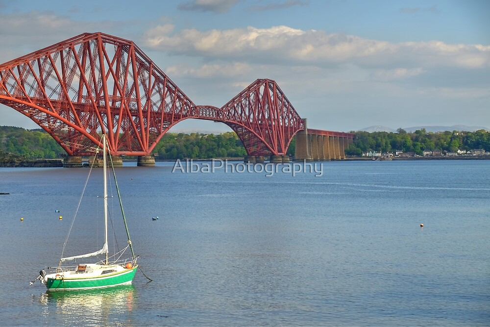 Forth Bridge, South Queensferry, Scotland. by AlbaPhotography