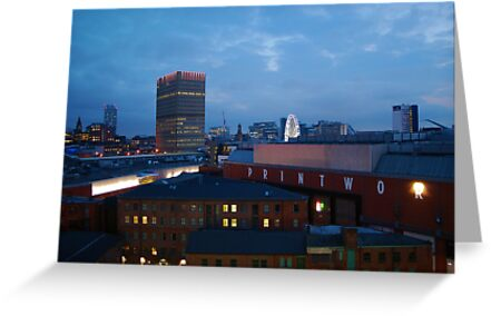 Manchester skyline by shakey