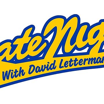 LATE NIGHT WITH DAVID LETTERMAN (CLASSIC SCRIPT LOGO) by discochicken