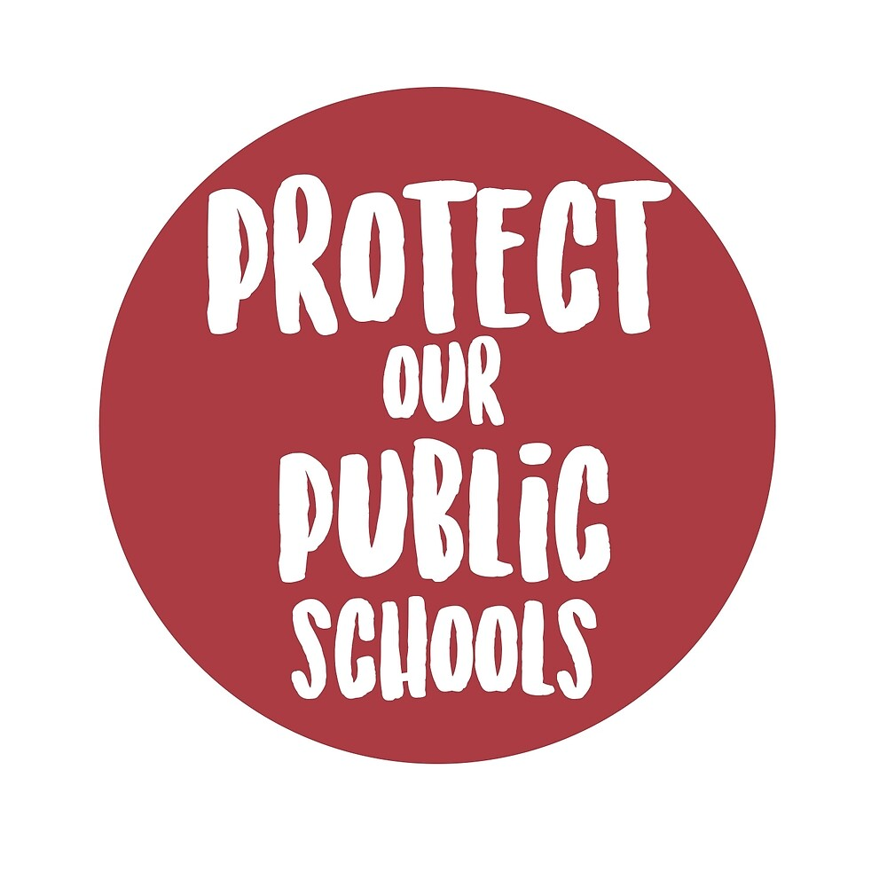 Protect Our Public Schools by art-foreveryone