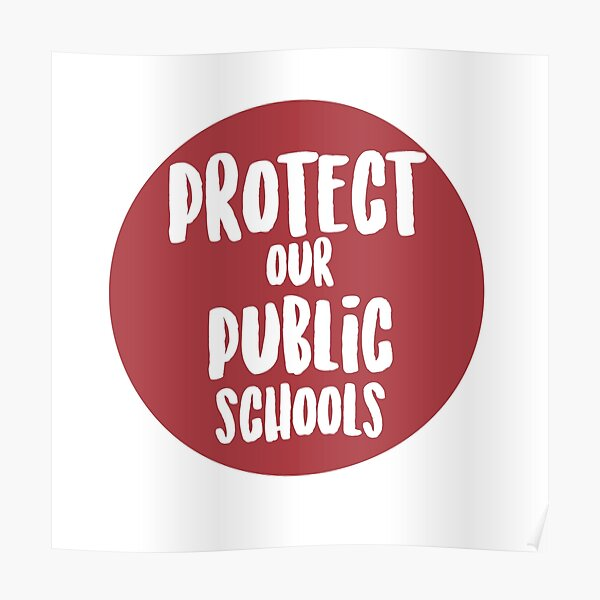 Protect Our Public Schools Poster