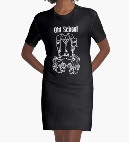 Old School LBE Graphic T-Shirt Dress