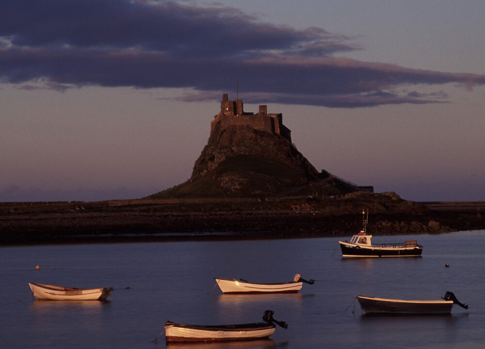 Lindisfarne Harbour by kgb1965