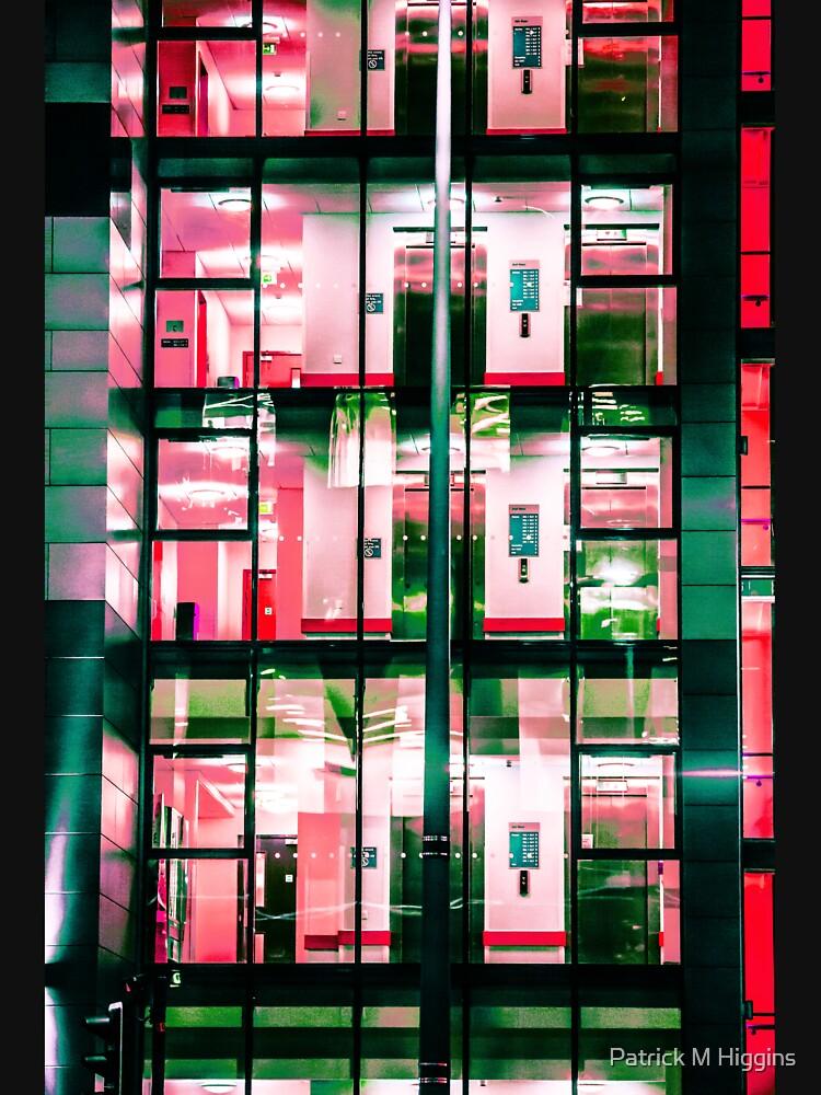 City Blocks Red by PatrickMHiggins