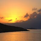 Sunrise on Halki by Tom Gomez