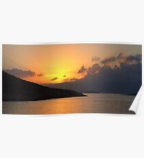 Sunrise on Halki Poster